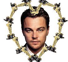 Leonardo DiCaprio Oscar by Audrey Metcalf