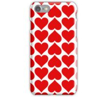 Hearts Love All Over iPhone Case/Skin