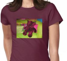 Funky Teddy Bear Womens Fitted T-Shirt