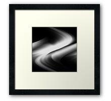 DREAM PATH (Black & Grays)-(9000 x 9000 px) Framed Print