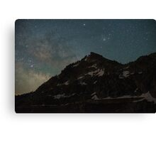 Donner Milky Way Rising Canvas Print