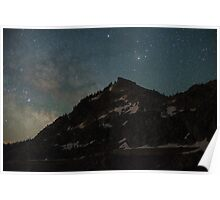 Donner Milky Way Rising Poster