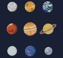 Pixel Planets by Jr Astronaut