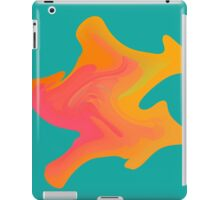 Fluid mineral. Liquid, ethereal smoke. Star watercolor puddle.  iPad Case/Skin