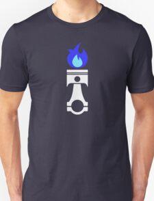 Flaming Piston (nitrous white) T-Shirt