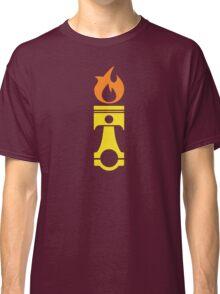 Flaming Piston (fire) Classic T-Shirt