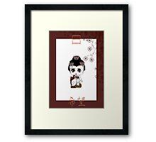 Chibi Lady Shiro Framed Print