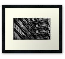 mirror facade Framed Print