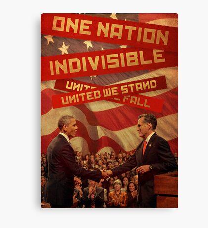 United We Stand, United We Fall Canvas Print
