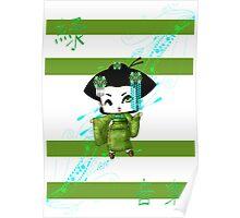 Chibi Lady Midori Poster