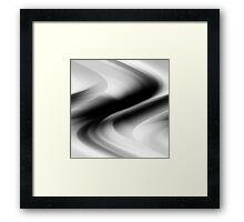 DREAM PATH (Black, Grays & White)-(9000 x 9000 px) Framed Print