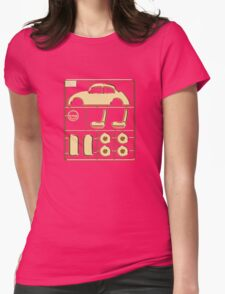 Build-A-Bug Womens Fitted T-Shirt