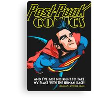 Post-Punk Comics | Super Mouth Strikes Again Canvas Print