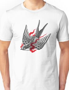 Stipple swallow Unisex T-Shirt