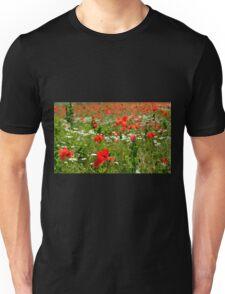 Poppy Field Near Cividale Unisex T-Shirt