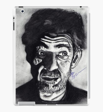 Old man in the dark  iPad Case/Skin