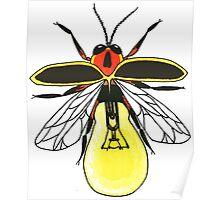 Lighting Bug Poster