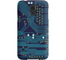 Dark Circuit Board Samsung Galaxy Case/Skin