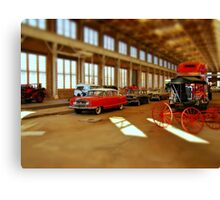Time and Transportation Canvas Print