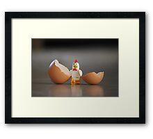 Chicken Run Framed Print