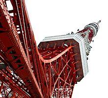 tokyo tower by lockstockbarrel