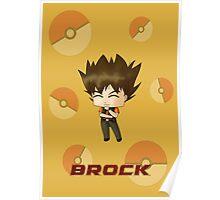 Chibi Brock Poster