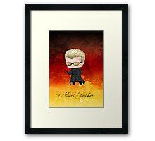 Chibi Wesker alt. Framed Print