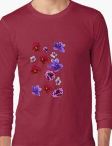 Flowers, violets Long Sleeve T-Shirt