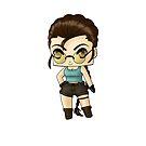 Chibi Lara Croft by artwaste