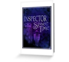 Inspector Spacetime Greeting Card