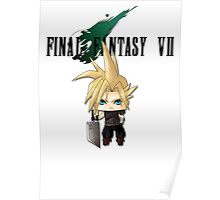 Chibi Cloud Poster