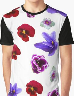 Flowers, violets Graphic T-Shirt