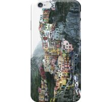 One of the villages of the Cinque Terre, Italia iPhone Case/Skin