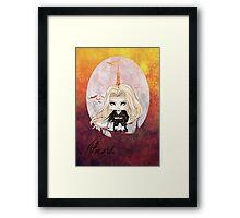 Chibi Alucard (vg) Framed Print