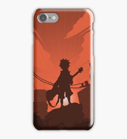 FLCL - Fooly Cooly Pixel Art iPhone Case/Skin