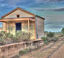 Silverton Railway Station, Western NSW, Australia by Adrian Paul
