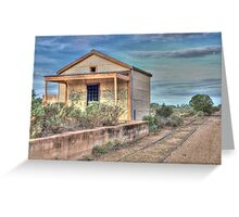 Silverton Railway Station, Western NSW, Australia Greeting Card