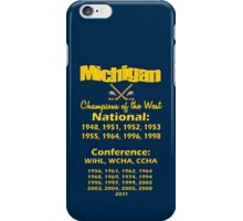 Hockey Champions of the West for Dark Colors iPhone Case/Skin
