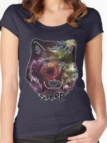 Sleep Wolf Women's Fitted Scoop T-Shirt