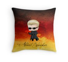Chibi Wesker Throw Pillow
