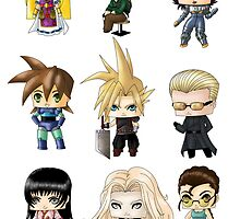 Chibi Gamers Set 2 alt. by artwaste