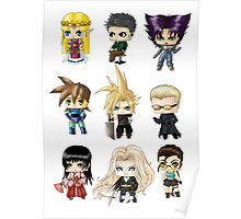 Chibi Gamers Set 2 alt. Poster