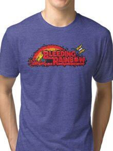 Bleeding Rainbow Tri-blend T-Shirt