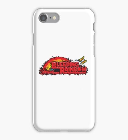 Bleeding Rainbow iPhone Case/Skin