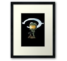 Chibi Master Chief Framed Print