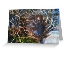 Life is Better with a Dog  Greeting Card