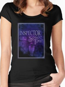 Inspector Spacetime Women's Fitted Scoop T-Shirt