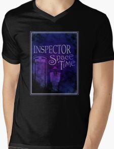 Inspector Spacetime Mens V-Neck T-Shirt