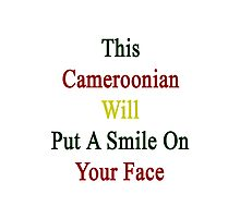 This Cameroonian Will Put A Smile On Your Face Photographic Print