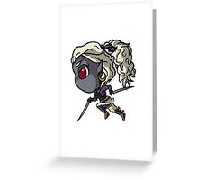 D&D Character: Mirshann Greeting Card